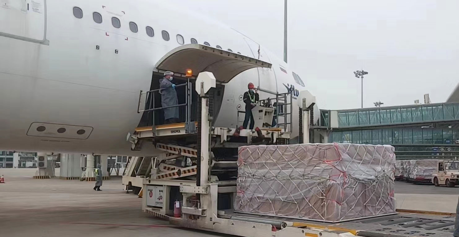 air freight per kilo from China to ireland